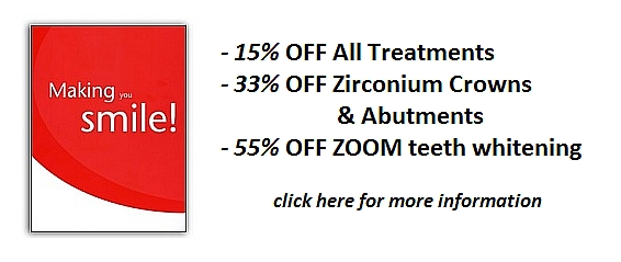 Dental Treatment Special Offers